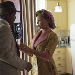 Blair Underwood stars as Ludie Watts and Vanessa Williams stars as Jessie Mae Watts in Lifetime's The Trip to Bountiful (2014). Photo credit by Bob Mahoney.