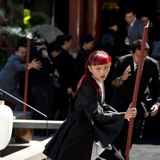 Wolverine, The - Rila Fukushima stars as Yukio in 20th Century Fox's The Wolverine (2013). Photo credit by Ben Rothstein.