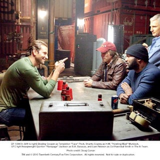 Bradley Cooper, Sharlto Copley, Liam Neeson and Quinton Jackson in The 20th Century Fox's The A-Team (2010) - the_a_team32