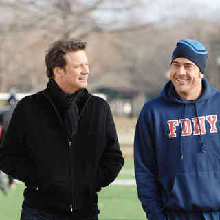 Accidental Husband, The - Colin Firth stars as Richard Bratton and Jeffrey Dean Morgan stars as Patrick Sullivan in Yari Film Group Releasing's The Accidental Husband (2009)