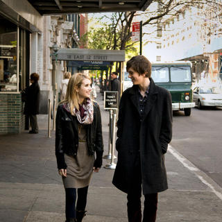 Art of Getting By, The - Emma Roberts stars as Sally Howe and Freddie Highmore stars as George Zinavoy in Fox Searchlight Pictures' The Art of Getting By (2011)