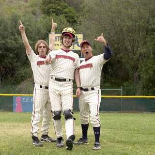 David Spade, Jon Heder and Rob Schneider in Columbia Pictures' The Benchwarmers (2006) - the_benchwarmers09