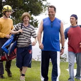 Jon Heder, David Spade, Jon Lovitz and Rob Schneider in Columbia Pictures' The Benchwarmers (2006) - the_benchwarmers12