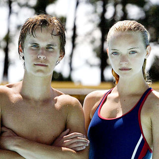 Rhys Wakefield stars as Thomas Mollison and Gemma Ward stars as Jackie Masters in NeoClassics Films' The Black Balloon (2008)