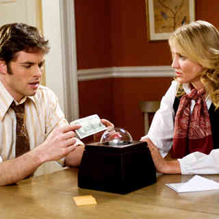 James Marsden stars as Arthur Lewis and Cameron Diaz stars as Norma Lewis in Warner Bros. Pictures' The Box (2009). Photo credit by Dale Robinette.