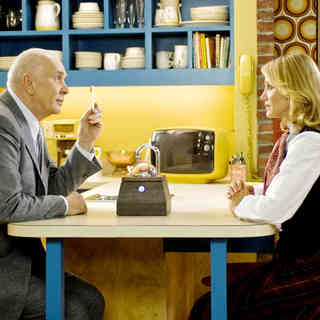 Frank Langella stars as Arlington Steward and Cameron Diaz stars as Norma Lewis in Warner Bros. Pictures' The Box (2009)