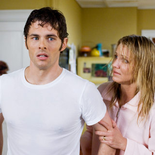 James Marsden stars as Arthur Lewis and Cameron Diaz stars as Norma Lewis in Warner Bros. Pictures' The Box (2009)