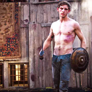 Jamie Bell stars as Esca in Focus Features' The Eagle (2011). Photo credit by Matt Nettheim.