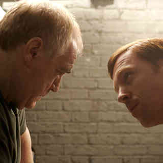 Brian Cox stars as Frank Perry and Damian Lewis stars as Rizza in IFC Films' The Escapist (2009)