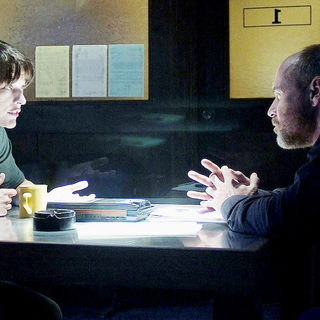 Milla Jovovich (Dr. Abigail Tyler) and Will Patton in Universal Pictures' The Fourth Kind (2009)