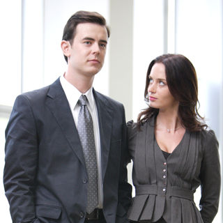 Great Buck Howard, The - Colin Hanks stars as Troy Gable and Emily Blunt stars as Valerie Brennan in Magnolia Pictures' The Great Buck Howard (2009)