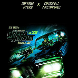 Poster of Columbia Pictures' The Green Hornet (2011) - the_green_hornet_poster03