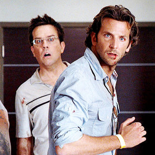 Zach Galifianakis, Ed Helms and Bradley Cooper in Warner Bros. Pictures' The Hangover (2009) - the_hangover34