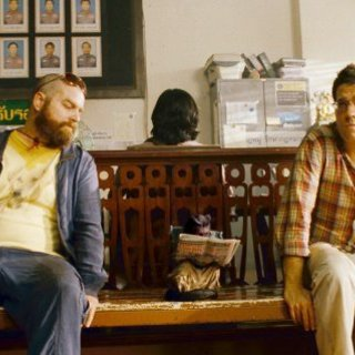 Hangover Part II, The - Zach Galifianakis star as Alan Garner and Ed Helms star as Stu Price in Warner Bros. Pictures' The Hangover Part II (2011)