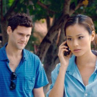 Hangover Part II, The - Justin Bartha stars as Doug and Jamie Chung stars as Lauren in Warner Bros. Pictures' The Hangover Part II (2011)