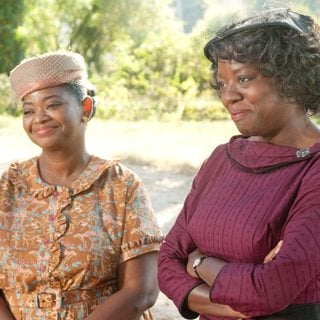 Octavia Spencer stars as Minny Jackson and Viola Davis stars as Aibileen Clark in DreamWorks SKG's The Help (2011)