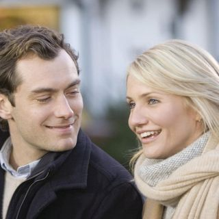 Jude Law and Cameron Diaz in Sony Pictures' The Holiday (2006)