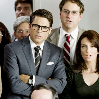 Rob Lowe stars as Rob and Tina Fey stars as Shelley in Warner Bros. Pictures' The Invention of Lying (2009) - the_invention_of_lying10