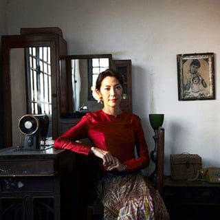 Michelle Yeoh stars as Aung San Suu Kyi in Cohen Media Group's The Lady (2012)