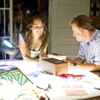Miley Cyrus stars as Veronica 'Ronnie' Miller and Greg Kinnear stars as Steve Miller in Walt Disney Pictures' The Last Song (2010) - the_last_song05