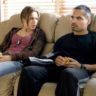 Rachel McAdams stars as Colee and Michael Pena stars as TK in Lionsgate Films' The Lucky Ones (2008) - the_lucky_ones_05