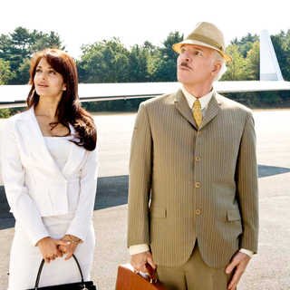 Aishwarya Rai stars as Sonia and Steve Martin stars as Inspector Jacques Clouseau in Columbia Pictures' The Pink Panther 2 (2009). Photo credit by Peter Iovino.