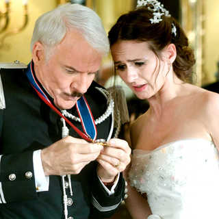 Steve Martin stars as Inspector Jacques Clouseau and Emily Mortimer stars as Nicole in Columbia Pictures' The Pink Panther 2 (2009). Photo credit by Peter Iovino.