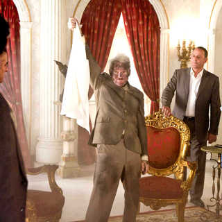 Pink Panther 2, The - Alfred Molina, Steve Martin, Jean Reno and Emily Mortimer in Columbia Pictures' The Pink Panther 2 (2009). Photo credit by Peter Iovino.