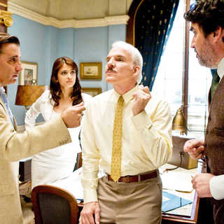 Andy Garcia, Aishwarya Rai, Steve Martin and Alfred Molina in Columbia Pictures' The Pink Panther 2 (2009). Photo credit by Peter Iovino.