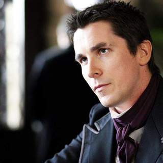 Christian Bale as Alfred Borden in Touchstone Pictures' The Prestige (2006)
