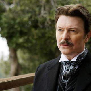 David Bowie as Nikola Tesla in Touchstone Pictures' The Prestige (2006)