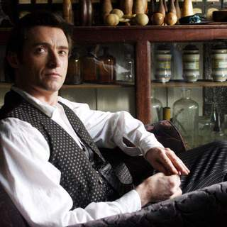 Hugh Jackman as Robert Angier in Touchstone Pictures' The Prestige (2006)