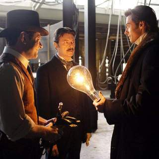 Andy Serkis, David Bowie and Hugh Jackman in Touchstone Pictures' The Prestige (2006)