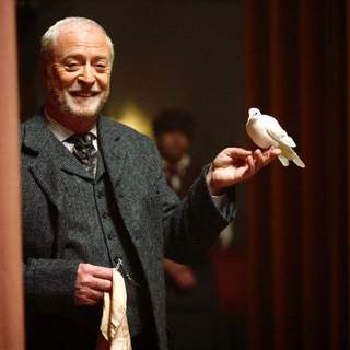 Michael Caine as Cutter in Touchstone Pictures' The Prestige (2006)