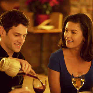 Justin Bartha stars as Aram Finklestein and Catherine Zeta-Jones stars as Sandy in The Weinstein Company's The Rebound (2010)