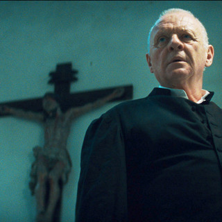 Anthony Hopkins stars as Father Lucas in Warner Bros. Pictures' The Rite (2011)