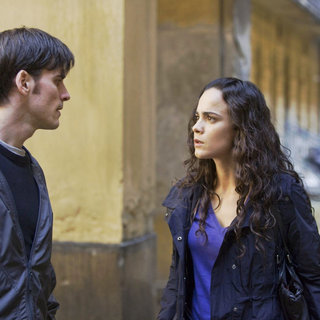 Colin O'Donoghue stars as Michael Kovak and Alice Braga stars as Angeline in Warner Bros. Pictures' The Rite (2011). Photo credit by Egon Endrenyi.
