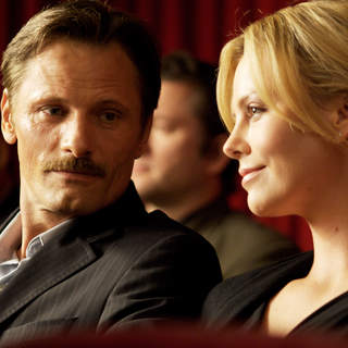 Viggo Mortensen stars as Father and Charlize Theron stars as Wife in Dimension Films' The Road (2009)