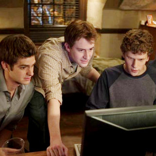 Andrew Garfield, Joseph Mazzello and Jesse Eisenberg in Columbia Pictures' The Social Network (2010) - the_social_network10