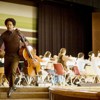 Soloist, The - Jamie Foxx stars as Nathaniel Ayers in DreamWorks' The Soloist (2009)