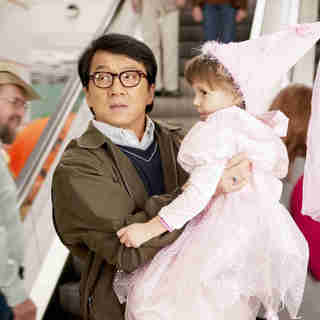 Spy Next Door, The - Jackie Chan stars as Bob Ho and Alina Foley stars as Nora in Lionsgate Films' The Spy Next Door (2010). Photo credit by Colleen Hayes.