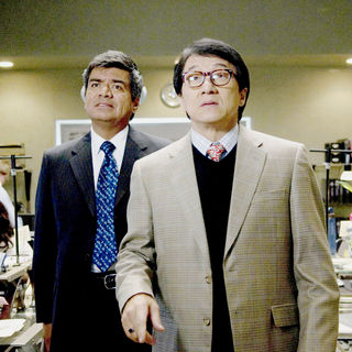 George Lopez stars as Glaze and Jackie Chan stars as Bob Ho in Lionsgate Films' The Spy Next Door (2010) - the_spy_next_door09