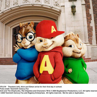 Alvin and the Chipmunks: The Squeakquel Picture 1