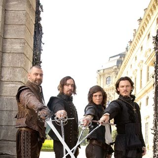 Ray Stevenson, Matthew Macfadyen, Logan Lerman and Luke Evans in Summit Entertainment's The Three Musketeers (2011) - the_three_musketeers04