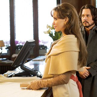 Tourist, The - Angelina Jolie stars as Elise and Johnny Depp stars as Frank Taylor in Columbia Pictures' The Tourist (2010)