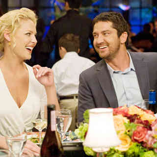 Katherine Heigl stars as Abby Richter and Gerard Butler stars as Mike Alexander in Columbia Pictures' The Ugly Truth (2009). Photo credit by Saeed Adyani.