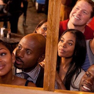 Meagan Good, Romany Malco, Regina Hall, Gary Owen, Terrence J and Kevin Hart in Screen Gems' Think Like a Man (2012). Photo credit by Alan Markfield. - think-like-a-man-img04