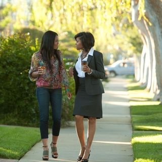 Regina Hall stars as Candice and Taraji P. Henson stars as Lauren in Screen Gems' Think Like a Man (2012). Photo credit by Photo by Alan Markfield. - think-like-a-man06