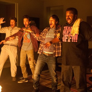 This Is the End - Danny McBride, Jay Baruchel, James Franco and Craig Robinson in Columbia Pictures' This Is the End (2013)
