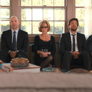 Tina Fey, Corey Stoll, Jane Fonda, Jason Bateman and Adam Driver in Warner Bros. Pictures' This Is Where I Leave You (2014)